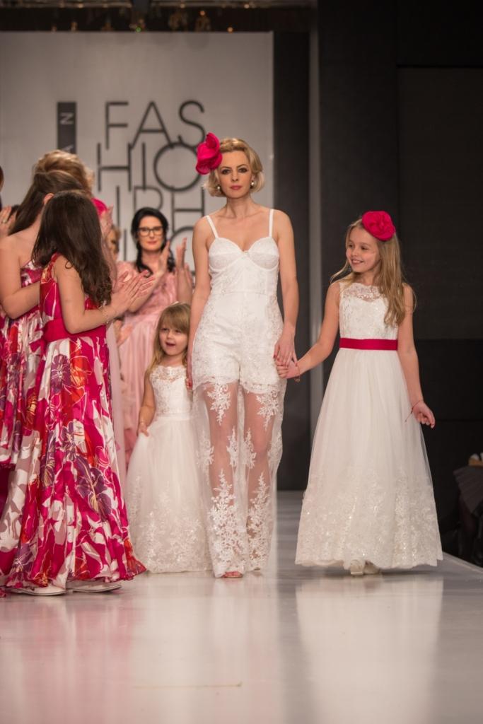 Initiatoarea conceptului Familly Fashion, alaturi de cele 2 fetite